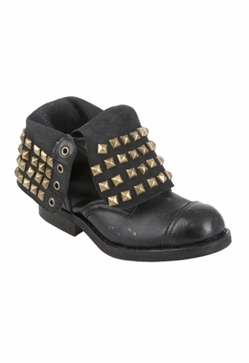 Jeffrey Campbell All Stud Combat Boot in Black