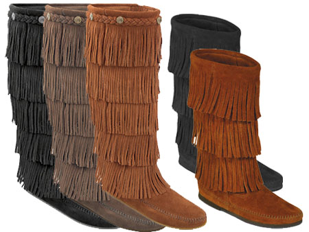 Tattoo Design Collections: Minnetonka Fringe Boots