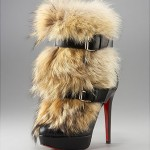 The $2,095 Christian Louboutin Toundra Booty Fur Boots Look for Less