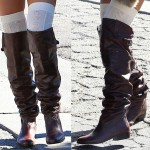 Ashley Tisdale's Confusing Way of Wearing Dolce Vita Donnie Over The Knee Boots