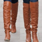Get the Look of Claudia Schiffer's Charming Chanel Boots! 5 Beautiful Brown Boots from $50 to $500
