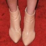 A Case of So Much Beige: Whitney Port in Loeffler Randall Electra Cutout Booties for Pipino 57 Party