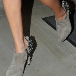 Selena Gomez Loves Her Sam Edelman Renzo Spiked and Studded Heel Ankle Boots