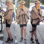 Katherine Heigl in Two Different Outfits with the Tabitha Simmons Ester Leopard Ankle Boots - Which Do You Prefer More?