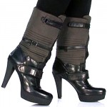 "Get Multiple Looks from the Nine West ""Iryna"" Multi-Strapped Puff Boots"