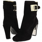 """I Dream of """"Jeanie,"""" the Metal-Heeled Booties from Nine West"""