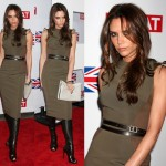 Victoria Beckham's Style of Wearing Over-the-Knee Boots with Knee-Length Dresses -- Hit or Miss?