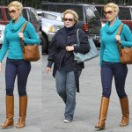 Katherine Heigl Goes for the Equestrienne Look While Out and About in Los Angeles