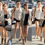 Emma Watson Trades in Her Wizard Robes for Short Shorts and Combat Boots