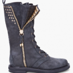 Coachella Fashion Must-Have: Balmain Studded Combat Boots