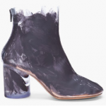 Yay or Nay: Maison Martin Margiela Painted Transparent Boots at Ssense