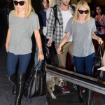 Airport Fashion: Miley Cyrus Goes for Some Thigh-High Style in Philly