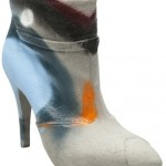 "Maison Martin Margiela's ""Spray-Painted Cement"" Booties -- Yay or Nay?"