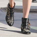 Mandy Moore Says Chloe's Susan Boots Are Made for Walking!