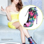 "Sarah Hyland Glams Up for ""Glamoholic"" December 2012 Issue"