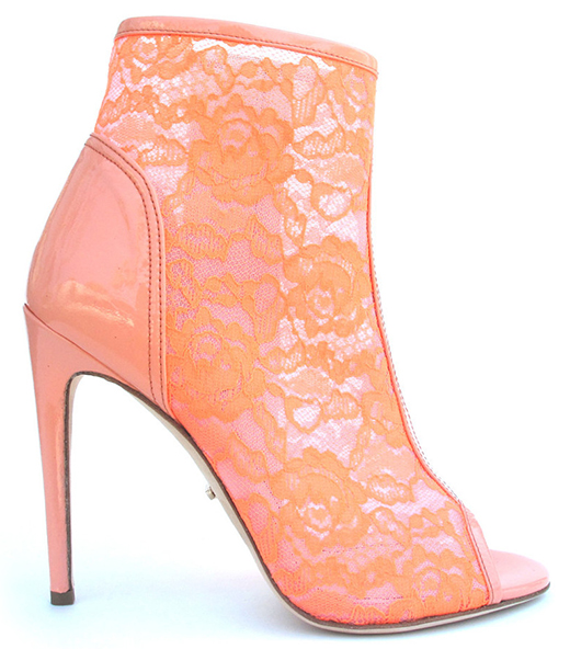 Jerome C. Rousseau Spring 2013 Juda Lace Coral Bootie