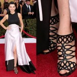 Best Dressed or Not: Julianna Margulies' Black-and-White Look at the 2013 Screen Actors Guild Awards
