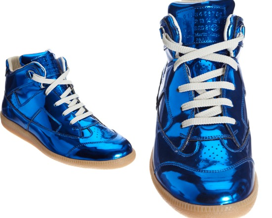 Maison Martin Margiela Metallic High Top