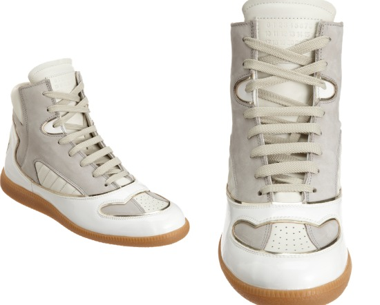 Maison Martin Margiela Metallic Trimmed High Top