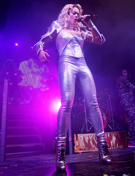 Rita Ora Performing at Manchester Academy