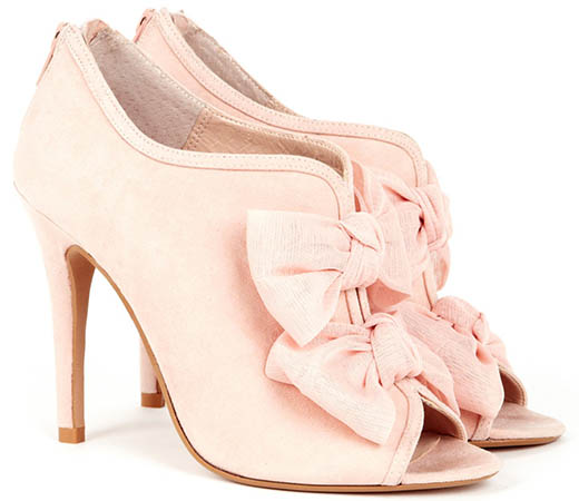 Sole Society Caroline Booties in Blush