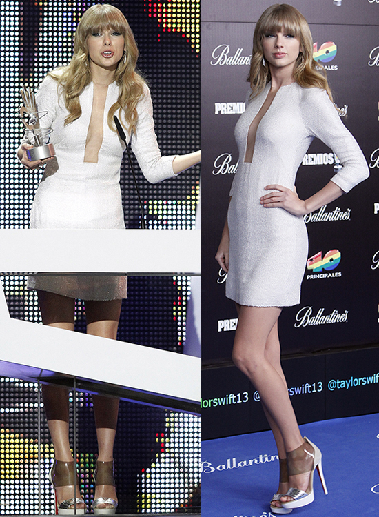 Taylor Swift at the 2013 '40 Principales Awards'