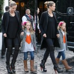 Spotted: Heidi Klum Goes for a Chic Mother-Daughter Tandem with Leni