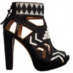 Nicole Richie's Native American Boots for House of Harlow 1960