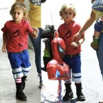 Gwen Stefani's Boys Rock Their Summer Boots