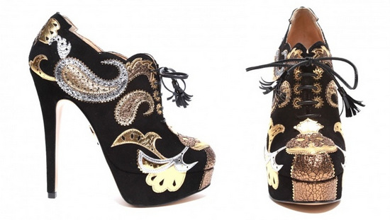 Orient-Express-Lace-Up-Bootie-Charlotte-Olympia-The-Webster-Miami
