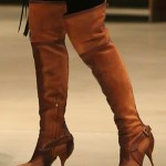 Megan Fox Shops at Madison Boutique in Christian Dior Intrigante Boots