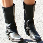 Get the Look of Miley Cyrus' $238.99 Frye 12R Harness Boots for Only $59.99