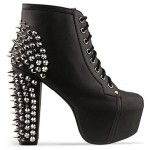 "Demi Lovato in Jeffrey Campbell ""Lita Spike"" Booties!"
