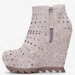 Grooves Like Jagger: Dare to Rock Some Camilla Skovgaard Perforated Suede Booties