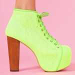 "Our Favorite Jeffrey Campbell ""Litas"" Get Neon-ized!"