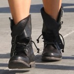 Vanessa and Stella Hudgens: Stylin' Sisters in Combat Boots!