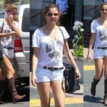 Spotted: Birthday Girl Selena Gomez Wears Knee-High Boots Under the Sun