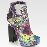 Final Call for a Summer Floral Frenzy: Top Picks of Floral New-in Booties from Saks!