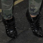 Cheryl Cole Does Military Chic with Wicked Lace-Up Booties