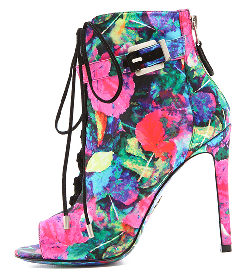 B Brian Atwood Linford Floral Booties2