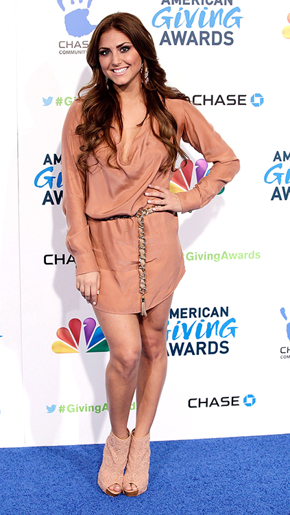 Cassie Scerbo at the 2nd Annual American Giving Awards