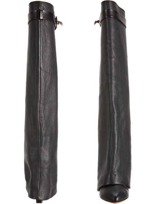 Givenchy Shark Tooth Covered Shaft Knee Wedge Boots2