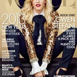 "Gwen Stefani Rocks the January 2013 Cover of ""Vogue"" in a Hedi Slimane Outfit and Alexander Wang Boots"
