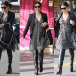 Spotted: Jenna Dewan Sports a Sexy Pregnant Look with Knee-High Boots