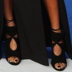 "Alesha Dixon in a Double-Slit Maxi Skirt and Aquazzura ""Sexy Thing"" Booties at Day 1 of ""Britain's Got Talent"" Auditions"