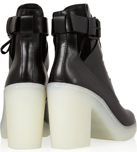 Alexander Wang Leather Lace-Up Boots2