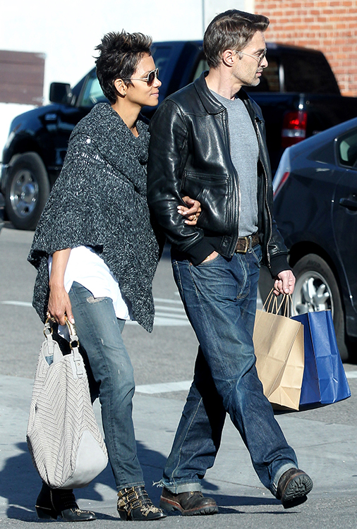 Halle Berry and Olivier Martinez shopping on Abbot Kinney in Venice Beach
