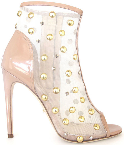 Jerome C. Rousseau Spring 2013 Juda Studded Mesh Bootie