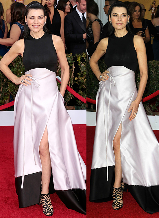 Julianna Margulies at the 19th Annual Screen Actors Guild (SAG) Awards held at the Shrine Auditorium