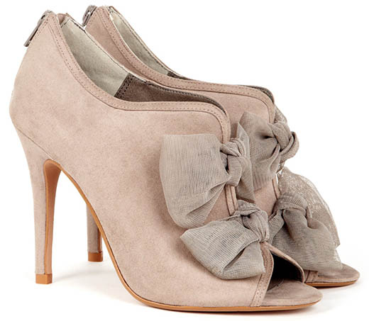 Sole Society Caroline Booties in Taupe